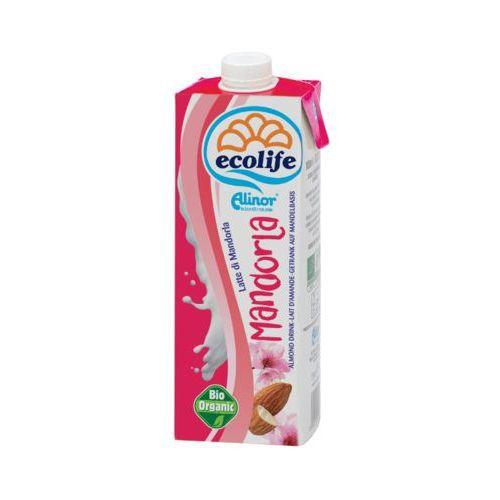 Eco life 1l napój mleko migdałowe bezglutenowe bio - OKAZJE