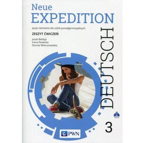 Neue Expedition Deutsch 3 Zeszyt ćwiczeń - Betleja Jacek, Nowicka Irena, Wieruszewska Dorota