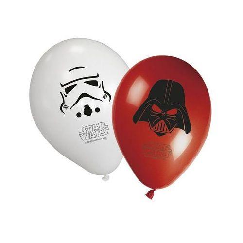 Balony urodzinowe star wars - 28 cm - 8 szt marki Procos
