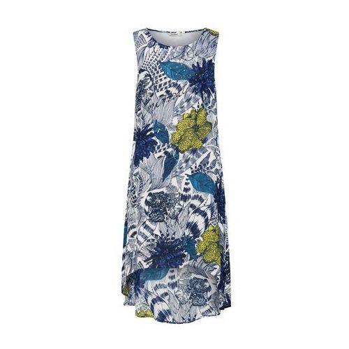 Desigual Sukienka 'Vest_Iowas' ciemny niebieski / biały (8434486658271)