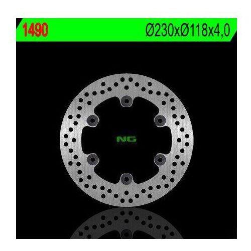 NG1490 TARCZA HAMULCOWA YAMAHA YZF 125R '14-'15, MT 125 '15 (230X118X4) (6X8,5MM)