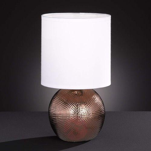 Honsel foro lampa stołowa miedź, 1-punktowy - klasyczny - obszar wewnętrzny - foro - czas dostawy: od 3-6 dni roboczych