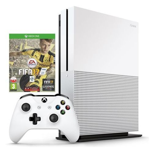 Microsoft Xbox One S 500GB - produkt z kat. konsole