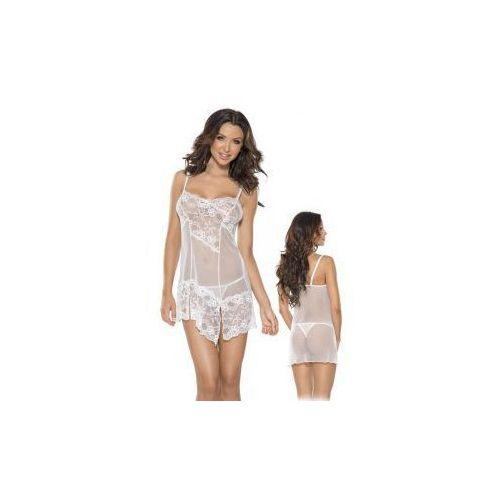Roxana mini dress and string s-m/white (5907626515930)
