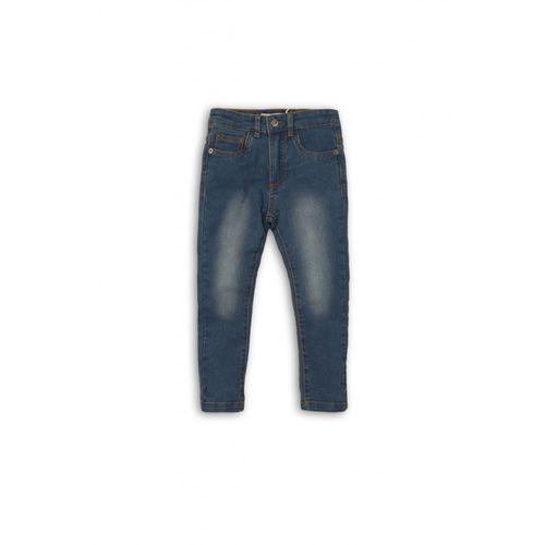 Minoti Spodnie niemowlęce jeansowe 5l35aq
