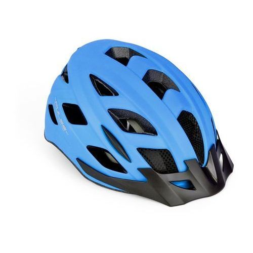 Author Kask pulse led x8 58-61, niebieski fluo (8590816062443)