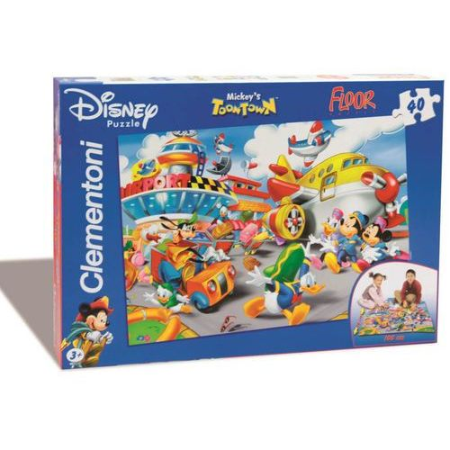 Puzzle 40 Podłogowe Mickey (8005125254101)