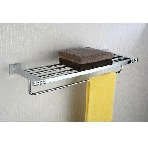 Półka ART PLATINO PAN-86012 na ręczniki z relingiem