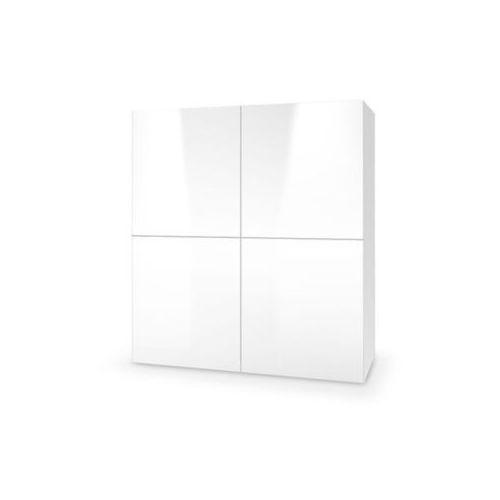 Tres komoda 4 biała wysoki połysk marki Style furniture
