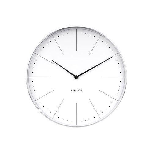 Zegar ścienny normann station white by marki Karlsson