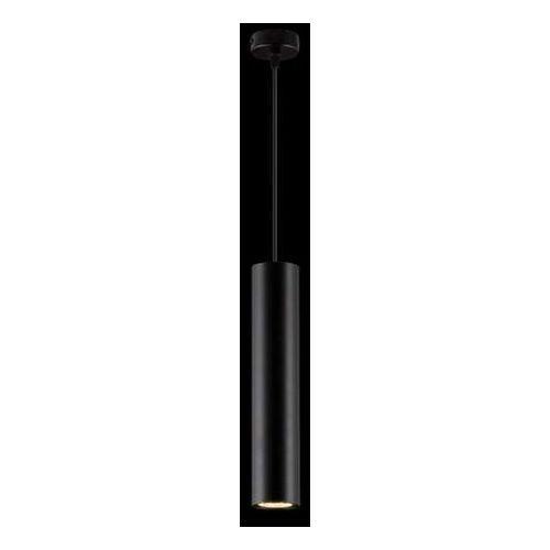 LAMPA wisząca PIANO 15 67740 Ramko sopel OPRAWA metalowy ZWIS tuba czarna, kolor Czarny
