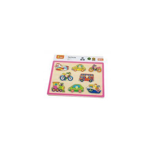 VIGA 50016 Drewniane puzzle: Środki transportu