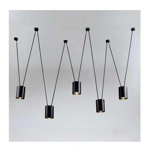 LAMPA wisząca VIWIN 9023 Shilo metalowa OPRAWA modernistyczny zwis tuby czarne, 9023