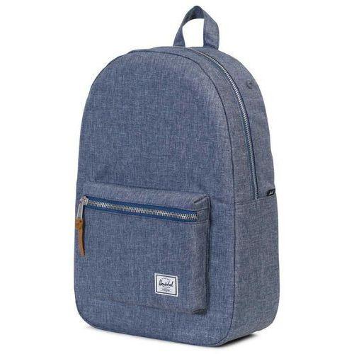 Herschel settlement plecak niebieski 2018 plecaki szkolne i turystyczne (0828432136735)