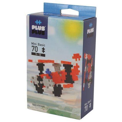 Klocki konstrukcyjne Plus-Plus Mini Basic - Samolot 70 elementów 3766