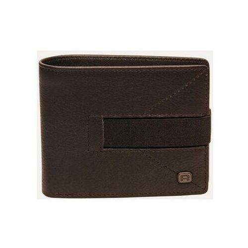 Portfel - strap leather brown brown (brown ) rozmiar: os marki Reell