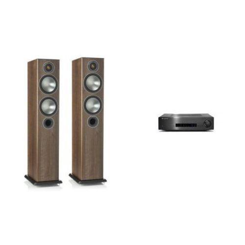 Zestawy Cambridge audio cxa80 + monitor audio bronze 5