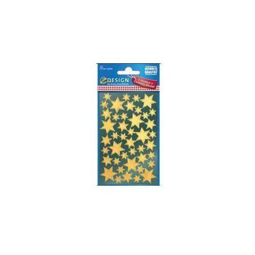 Naklejki - złote gwiazdy marki Zdesign