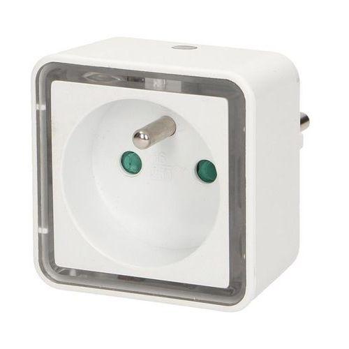 Lampka Orno Lampka nocna LED z gniazdem 230V (OR-LA-1408) Darmowy odbiór w 21 miastach! (5901752487314)