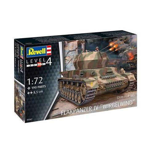 Revell Model plastikowy flakpanzer iv wirbelwind 2cm