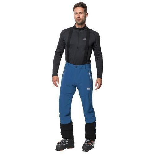 Męskie spodnie narciarskie GRAVITY TOUR PANTS MEN indigo blue - 54 (4060477292502)