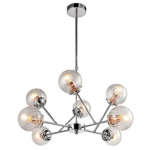Lampa wisząca best 38-67289 szklana oprawa zwis molekuły kule balls przezroczyste marki Candellux