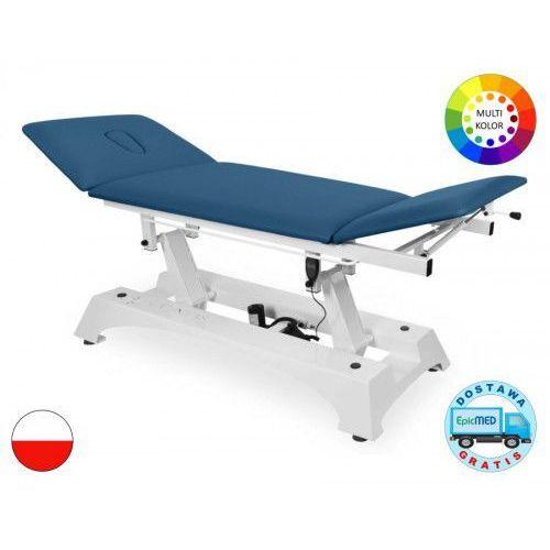 Juventas Stół rehabilitacyjny tsr-3 z elektryczną regulacją wysokości oraz regulowanym zagłówkiem i podnóżkiem
