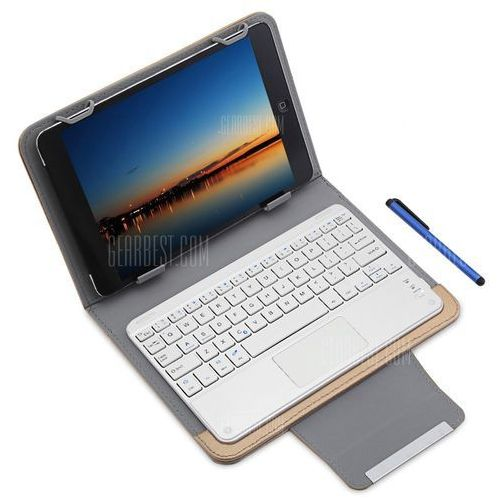 3 in 1 Bluetooth Keyboard Touch Control Tablet Case 9 / 10 inch (keyboard, syntezator)