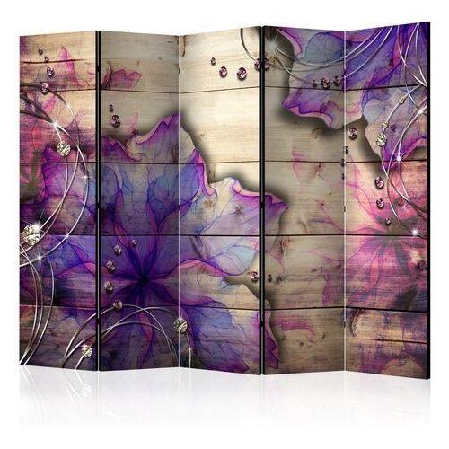 Artgeist Parawan 5-częściowy - purpurowe wspomnienie ii [room dividers]