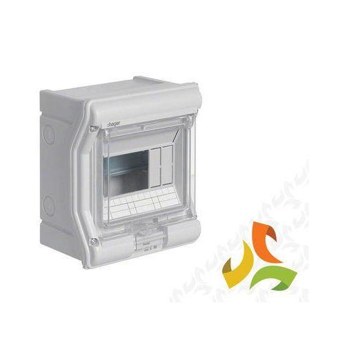 Rozdzielnica,rozdzielnia elektryczna VECTOR II IP65 6-mod. hermetyczna VE106L HAGER