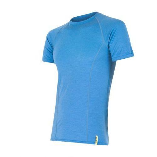 Sensor Merino Wool Active Men's T-shirt Short Sleeves Niebieski M 2014-2015