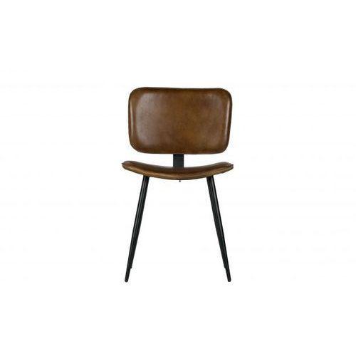 Be Pure Krzesło do jadalni Range skórzane oliwkowe 800760-O (8714713076246)
