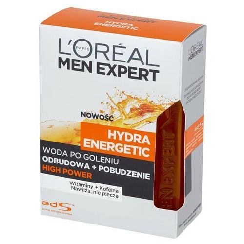 L'Oreal Paris Men Expert Hydra Energetic High Power, 100 ml. Woda po goleniu - L'oreal Paris