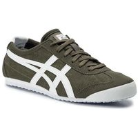 Sneakersy ASICS - ONITSUKA TIGER Mexico 66 1183A223 Dark Olive/White 300, kolor zielony