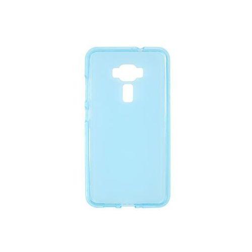 Asus zenfone 3 (ze552kl) - etui na telefon flexmat case - niebieski marki Etuo flexmat case