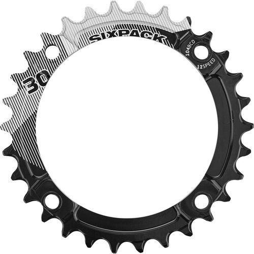 Sixpack k-ring narrow wide zębatka rowerowa czarny 34 zębów 2017 zębatki przednie (4057762001901)