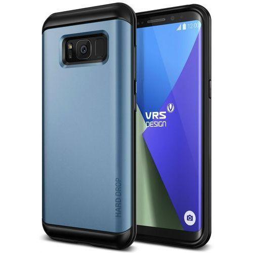 Etui VRS Design Hard Drop Samsung Galaxy S8 Blue Coral, kolor niebieski