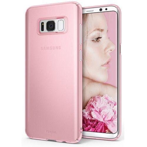 Etui Ringke Slim Samsung Galaxy S8 Plus Frost Pink (8809525015771)