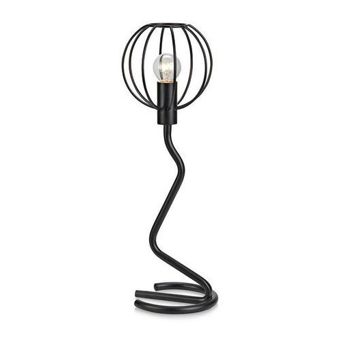 Industrialna LAMPA stołowa CLIVE 107006 Markslojd biurkowa LAMPKA metalowa druciak kula ball czarna (7330024571273)