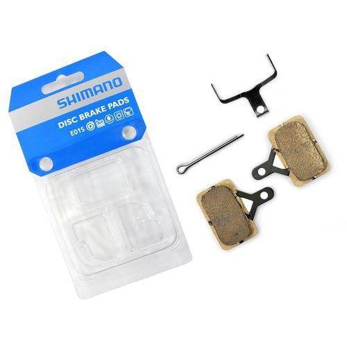 Okładziny/klocki hamulcowe Shimano E01S metaliczne (4524667284895)