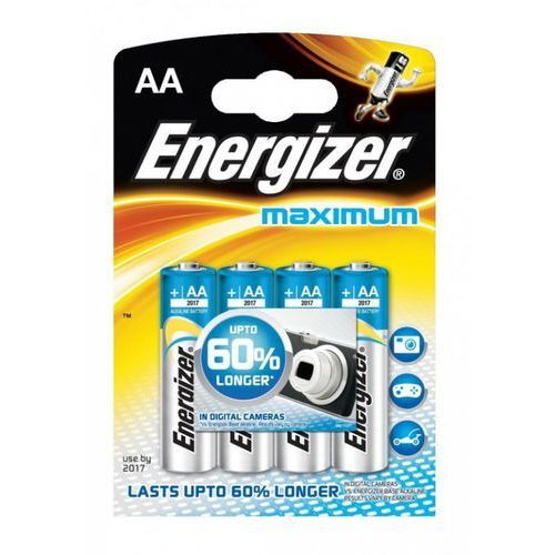 Energizer Bateria  maximum aa lr6/4 szt.