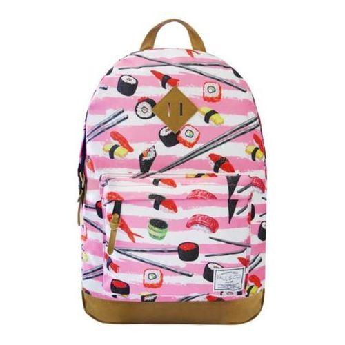 Plecak sushi różowy marki Incood.