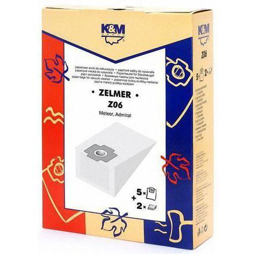 Worek do odkurzacza K&M Z06 (5 sztuk) + Zamów z DOSTAWĄ W PONIEDZIAŁEK! (5907525800168)