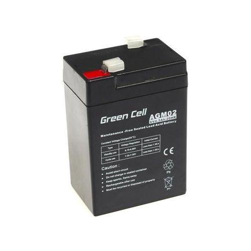 Akumulator AGM 6V 4.5Ah {70 × 47 × 106 mm} (GreenCell)