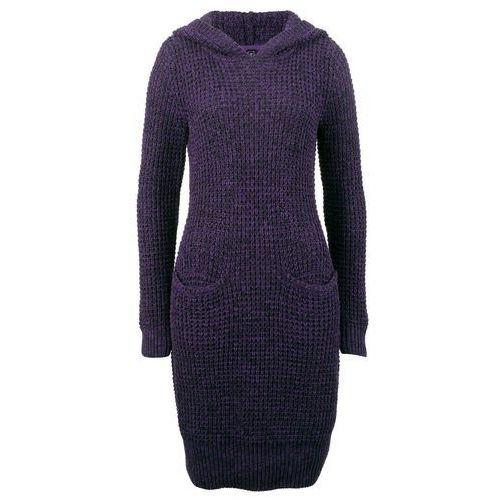 Długa sukienka bonprix turkusowy, kolor fioletowy