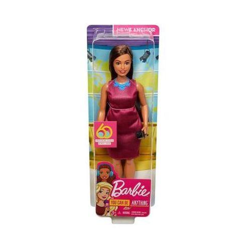 Lalka barbie kariera 60 urodziny reporterka marki Mattel