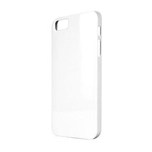 Etui XQISIT iPlate Glossy do iPhone 5/5S Biały