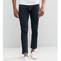 Nudie Jeans TALL Tight Long John Skinny Jeans Twill Rinsed Wash - Blue, kolor niebieski