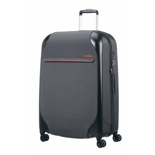 American tourister walizka na 4 kołach 76cm kolekcja skyglider