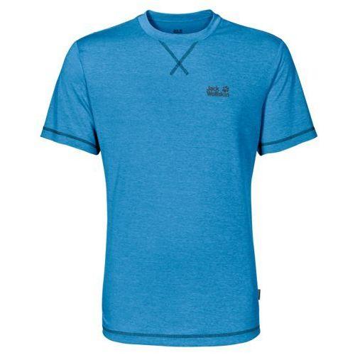 Koszulka crosstrail t men - ocean blue marki Jack wolfskin